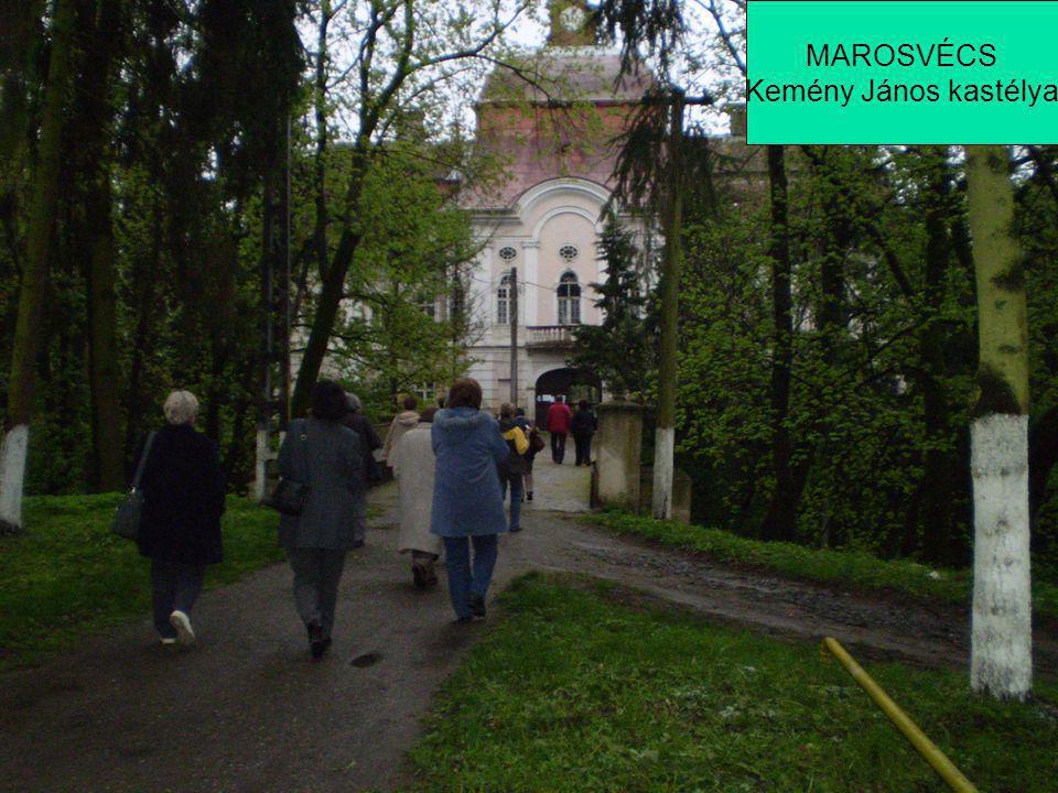 MAROSVÉCS Kemény János kastélya