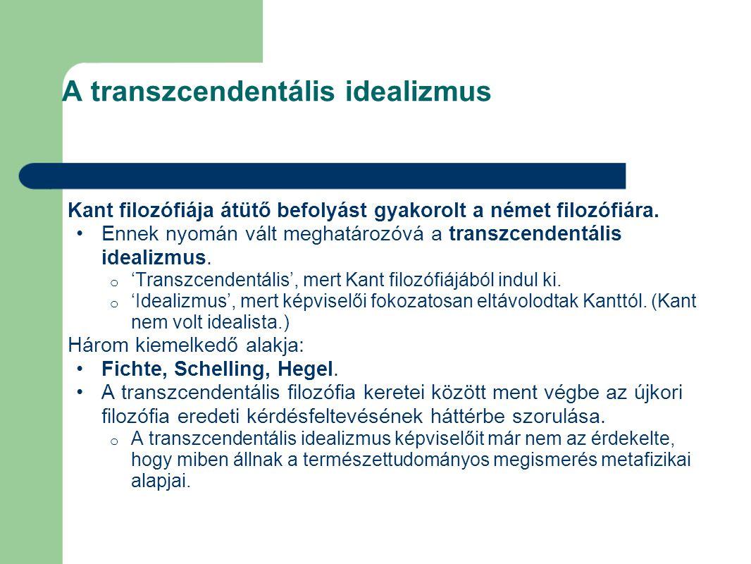 Hegel – a szubjektum tagadás 2.A szubjektum tagadás.