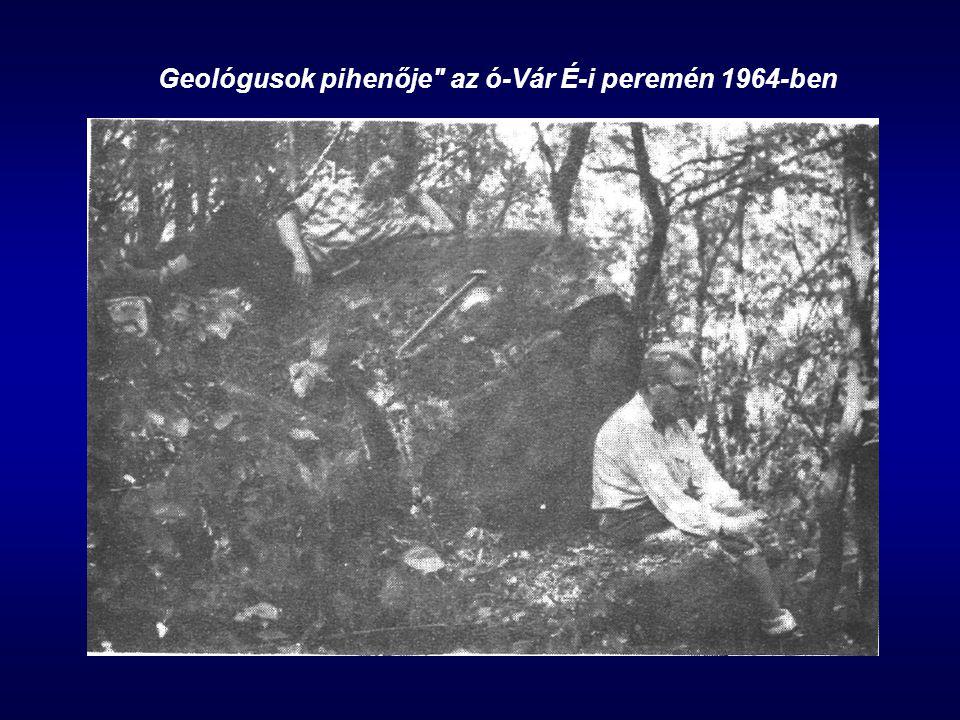 Geológusok pihenője