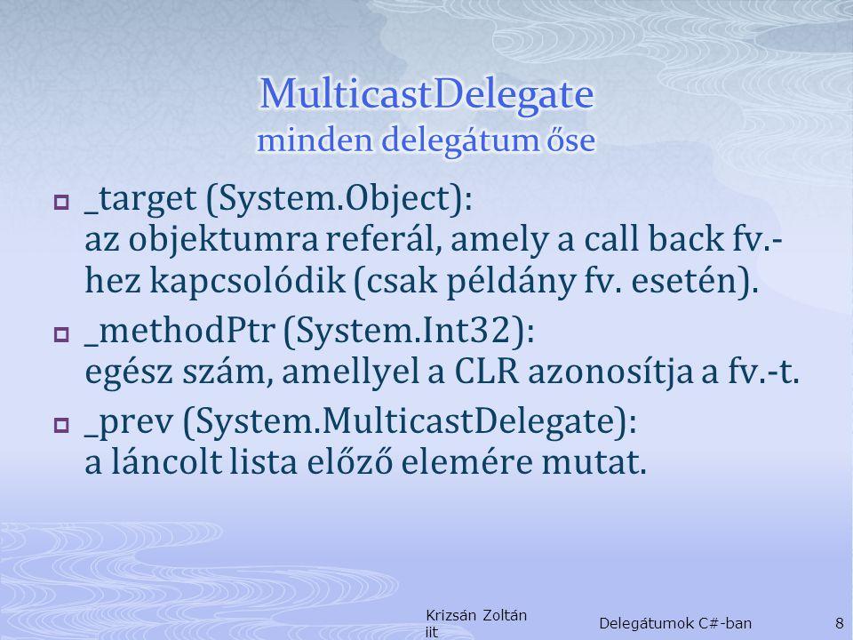  _target (System.Object): az objektumra referál, amely a call back fv.- hez kapcsolódik (csak példány fv.