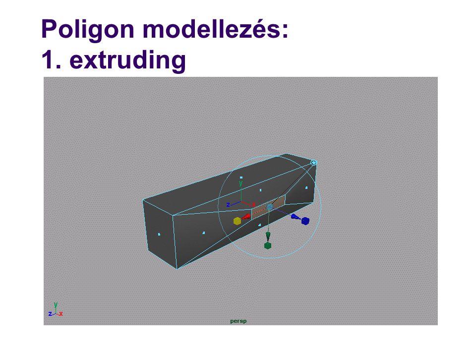 Szárnyasél adatstruktúra class BRepCore { … public: void MEVVF(…); void MVE(float t, Edge& e); void MEF(Vertex& v1,Vertex& v2); void Move(Vertex& v, Vector p); }; class BRep : BRepCore { void FaceExtrude( ); void FaceSplit( ); void EdgeCollapse( ); void VertexSplit( ); … }; él Pont +(x,y) lap