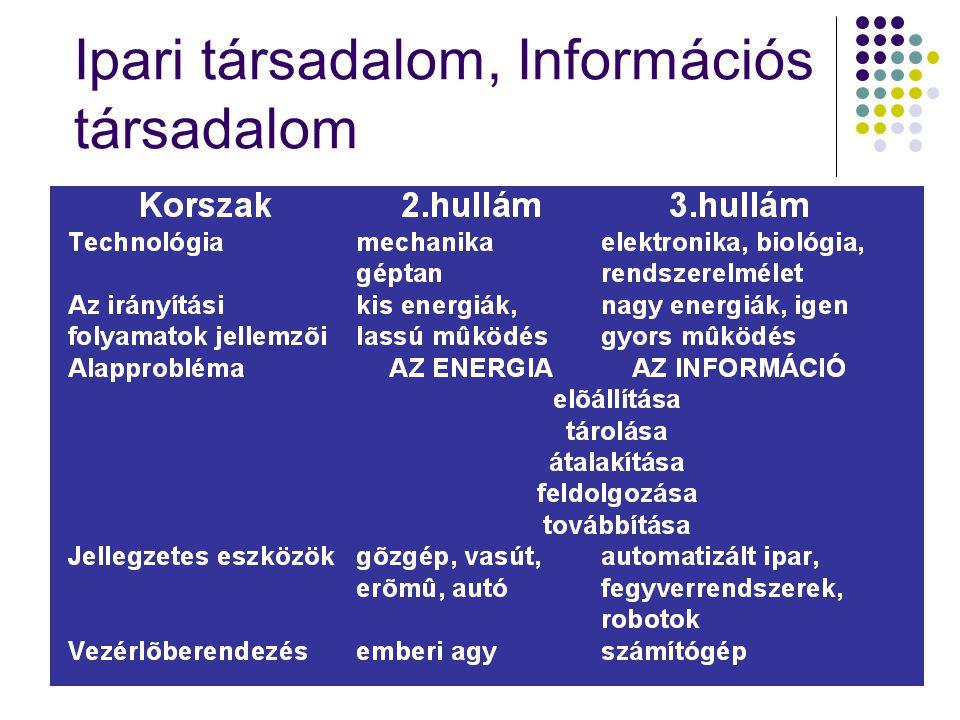 Ipari társadalom, Információs társadalom