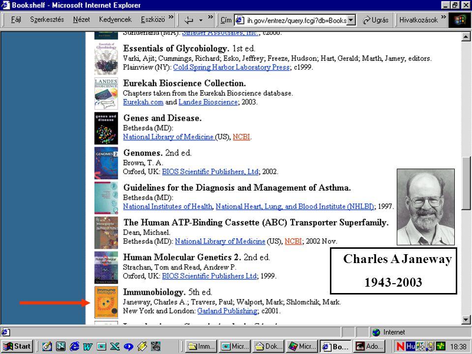 Charles A Janeway 1943-2003