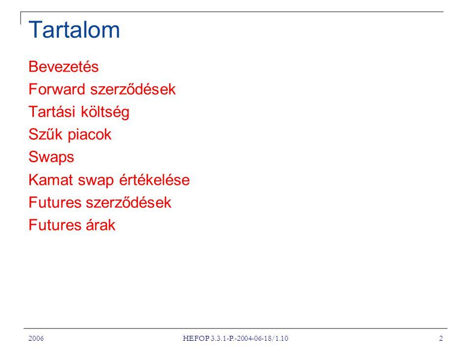 2006 HEFOP 3.3.1-P.-2004-06-18/1.10 23 SZŰK PIACOK II.