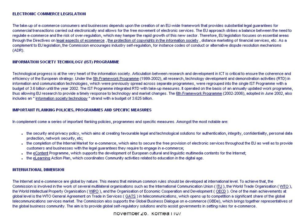 Komm. rendsz. 11. előadás 2007. november 26. komea1107 40
