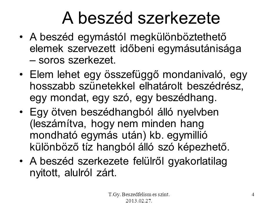 T.Gy.Beszedfelism es szint. 2011.03.01.
