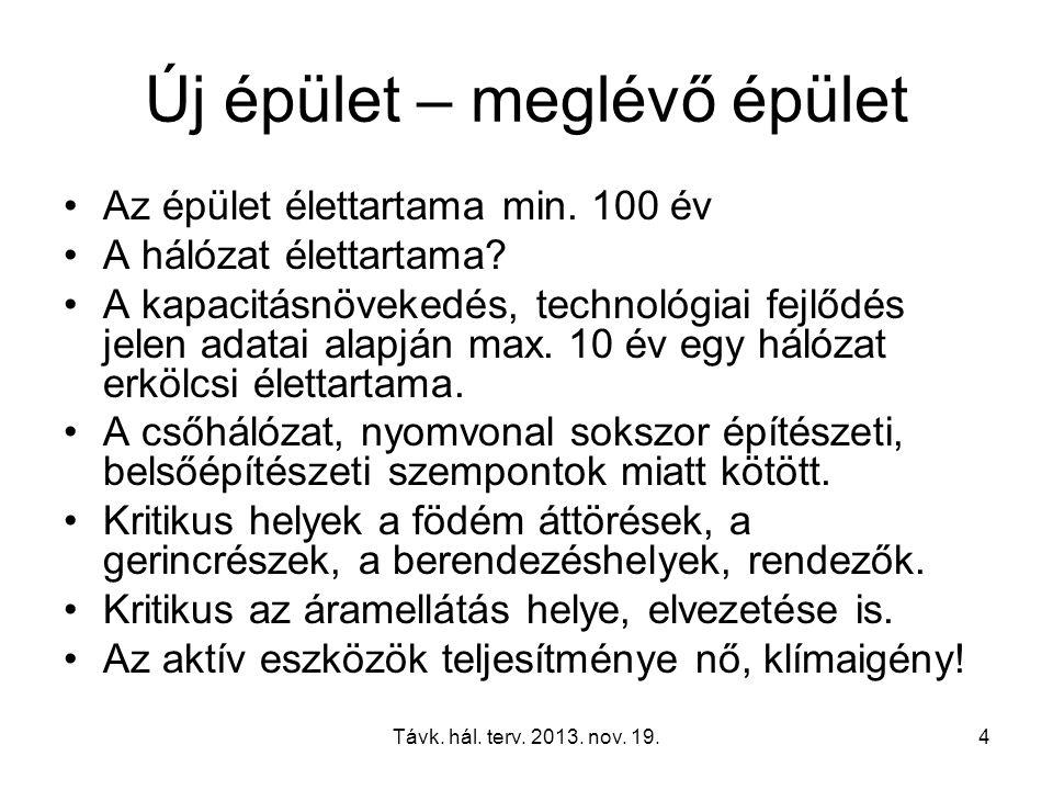 Távk.hál. terv. 2013. nov. 19.15 IEEE 802 10GBASE- T What is 10GBASE-T.