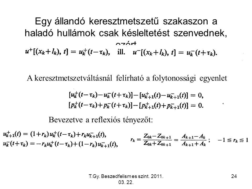 T.Gy. Beszedfelism es szint. 2011. 03. 22.