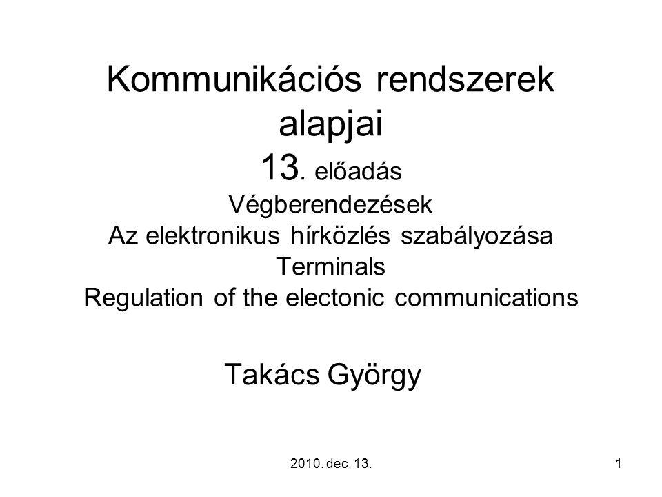 2010.dec. 13.62 Kapcsolódó rendeletek 277/2003. (XII.