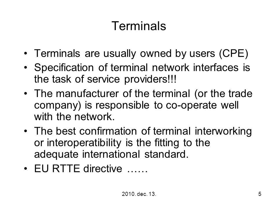 2010.dec. 13.76 Interworking and interoperability elektronikus hírközlõ hálózatok ….