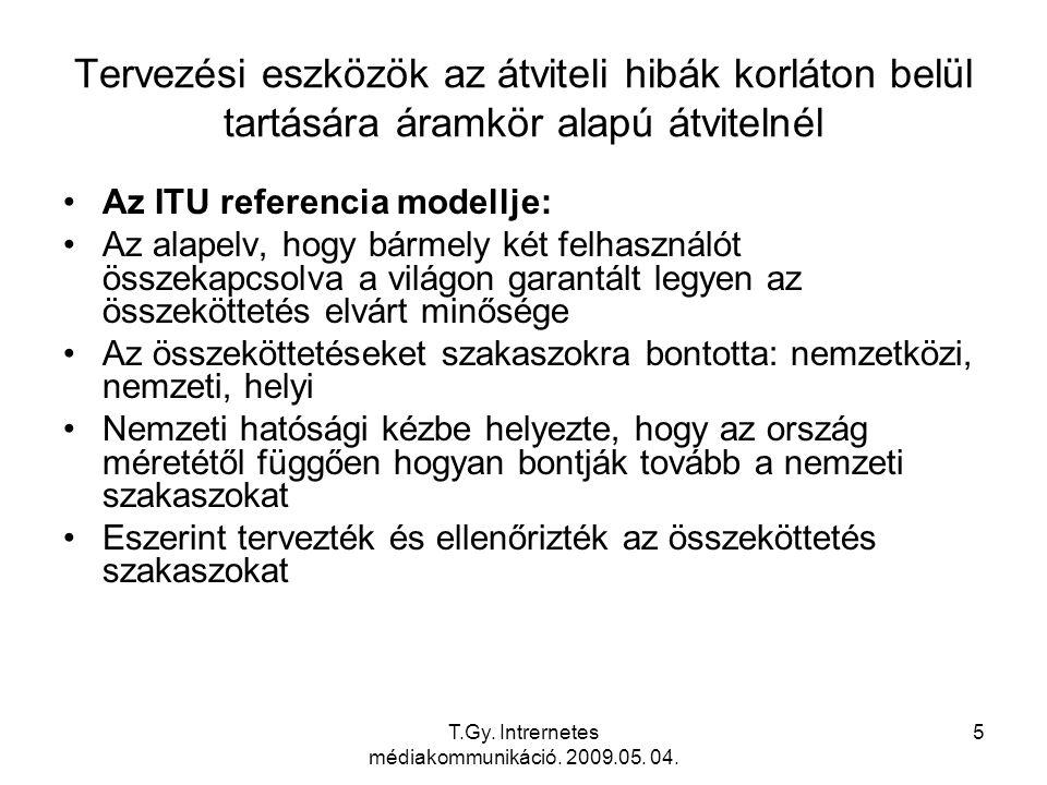 T.Gy.Intrernetes médiakommunikáció. 2009.05. 04.