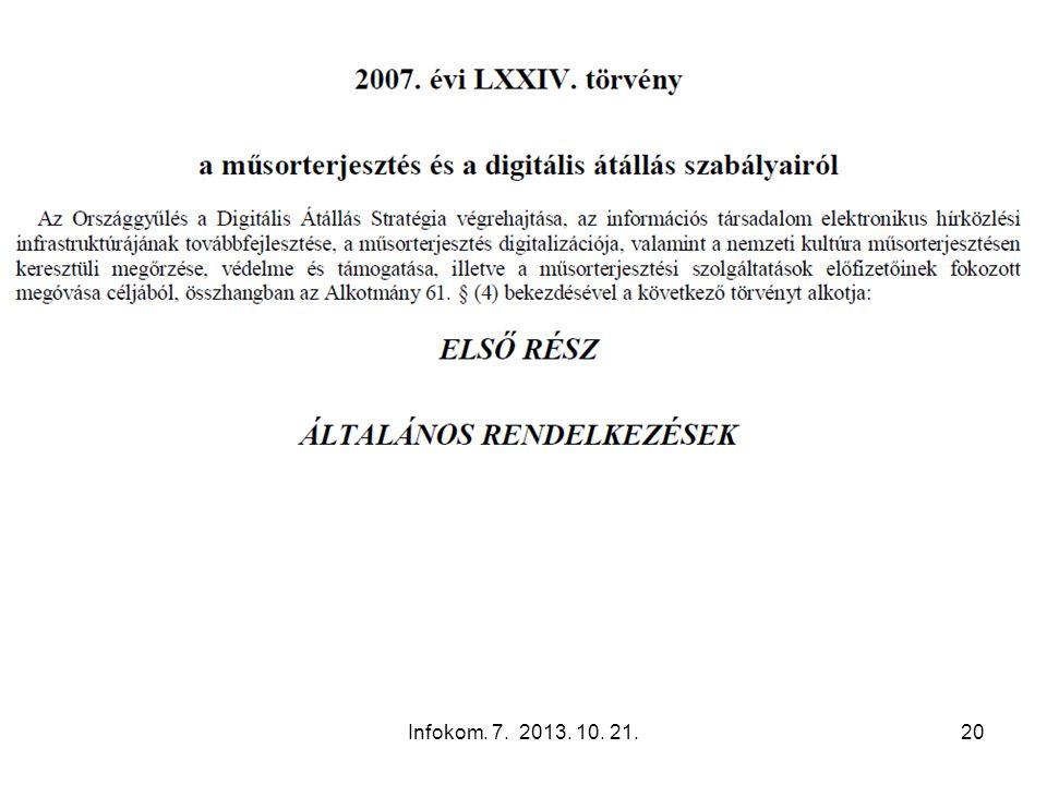 Infokom. 7. 2013. 10. 21.20