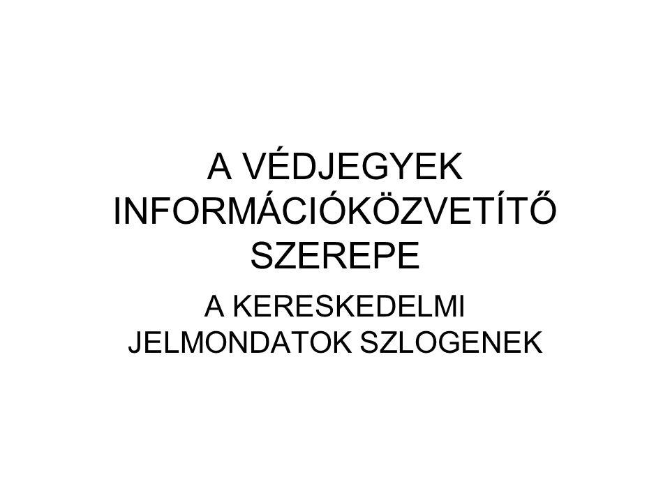 """PÉLDÁK AZ ISMERT SZLOGENEKRE """"STOLLWERCK—A SZERETET ÍZE """"PANNON GSM– AZ ÉLVONAL """"HARLEY DAVIDSON– AZ ÉLŐ LEGENDA """"CAMEL—A KALAND ÍZE """" RENAULT—ÖRÖM VELE ÉLNI """"SUZUKI—A MI AUTÓNK """" WESTEL– AKAPCSOLAT """"PHILLIPS– LET'S MAKE THINKS BETTER PALL MALL –AMERIKAI MNŐSÉG """"UNICUM-MAGYARORSZÁG NEMZETI ITALA NIKE, """"JUST DO IT"""