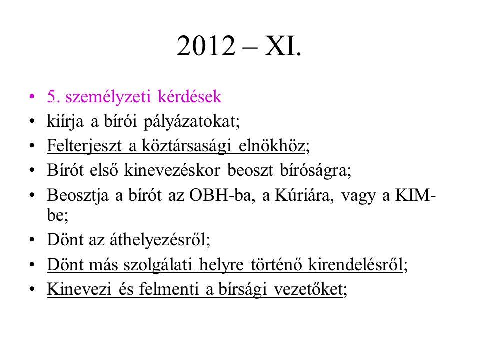 2012 – XI.5.