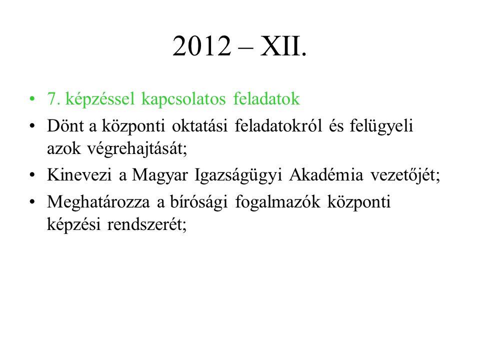 2012 – XII.7.