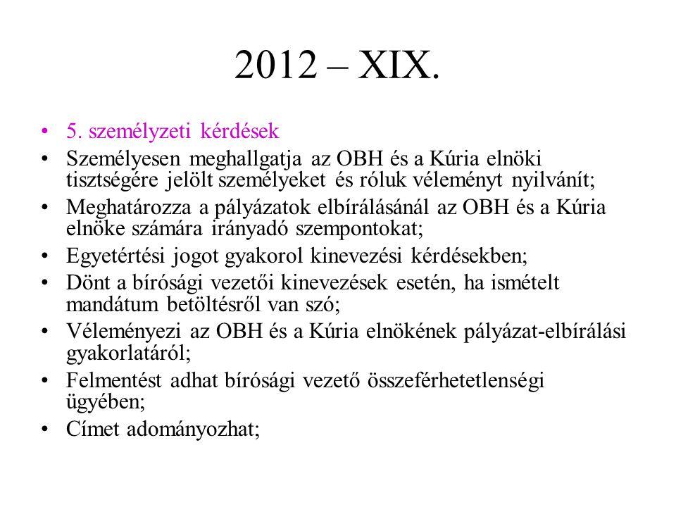 2012 – XIX.5.