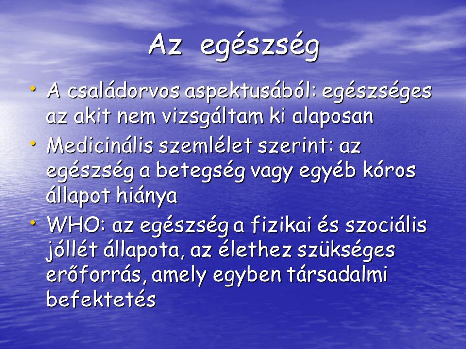Egészségnevelés SZOCIÁLHIGIÉNÉS SZOCIÁLHIGIÉNÉS 1.
