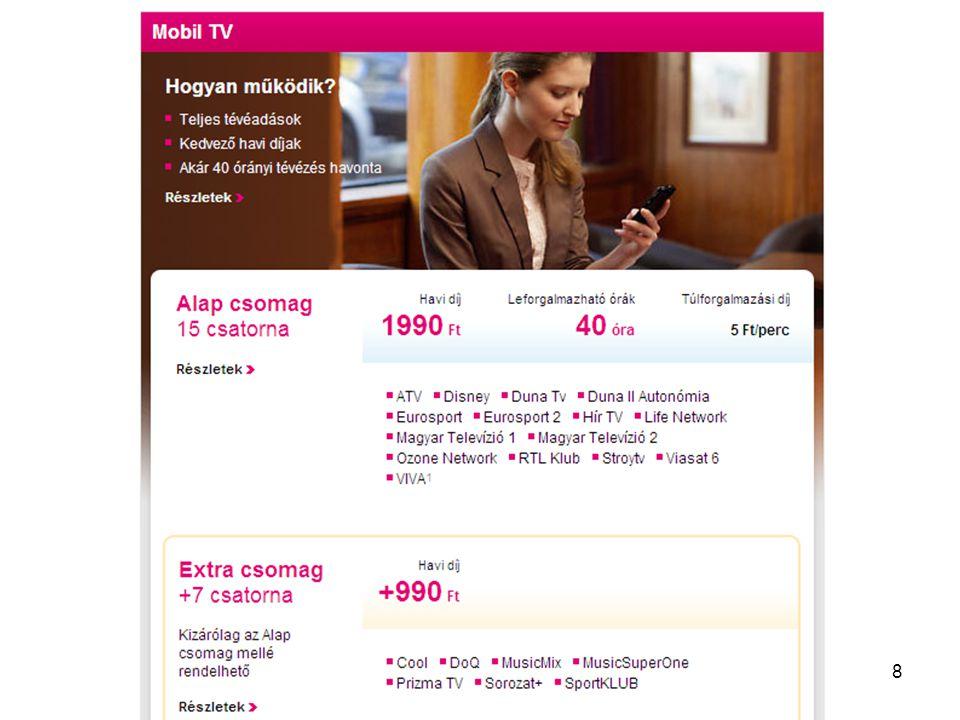 Távközlő hálózatok tervezése -- 2012. szeptember 11. 29