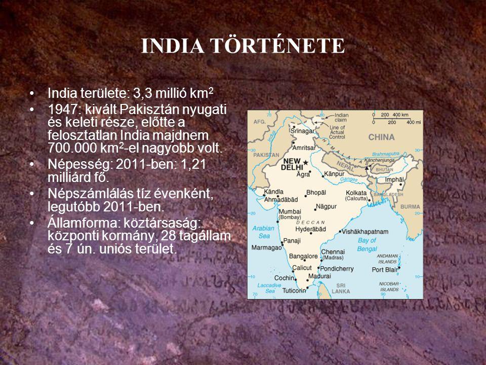Indiai fogalmak Hindí: Észak-India legelterjedtebb nyelve, szanszkrit alapon a középkorban kialakult népnyelvek és az évszázadok alatt felvett arab-perzsa szóanyag eredménye.