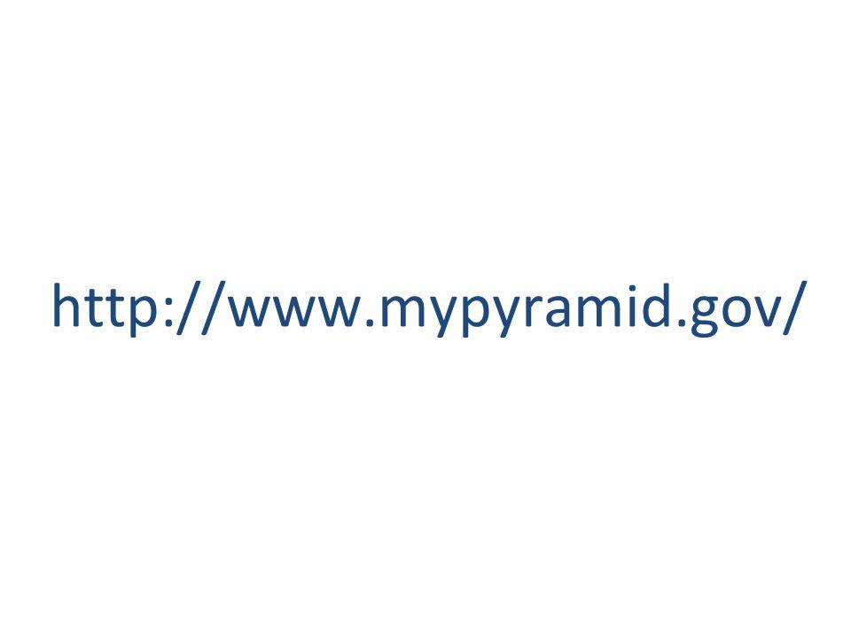http://www.mypyramid.gov/
