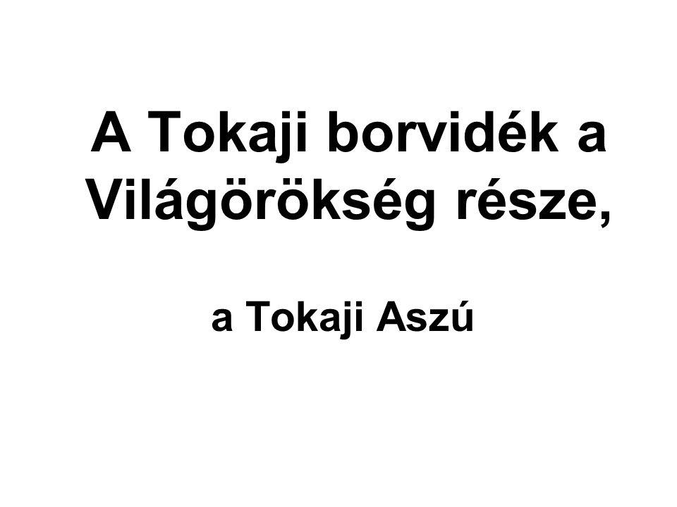 Ekkor elismerik a Tokaj-hegyaljai borok világelsőségét.