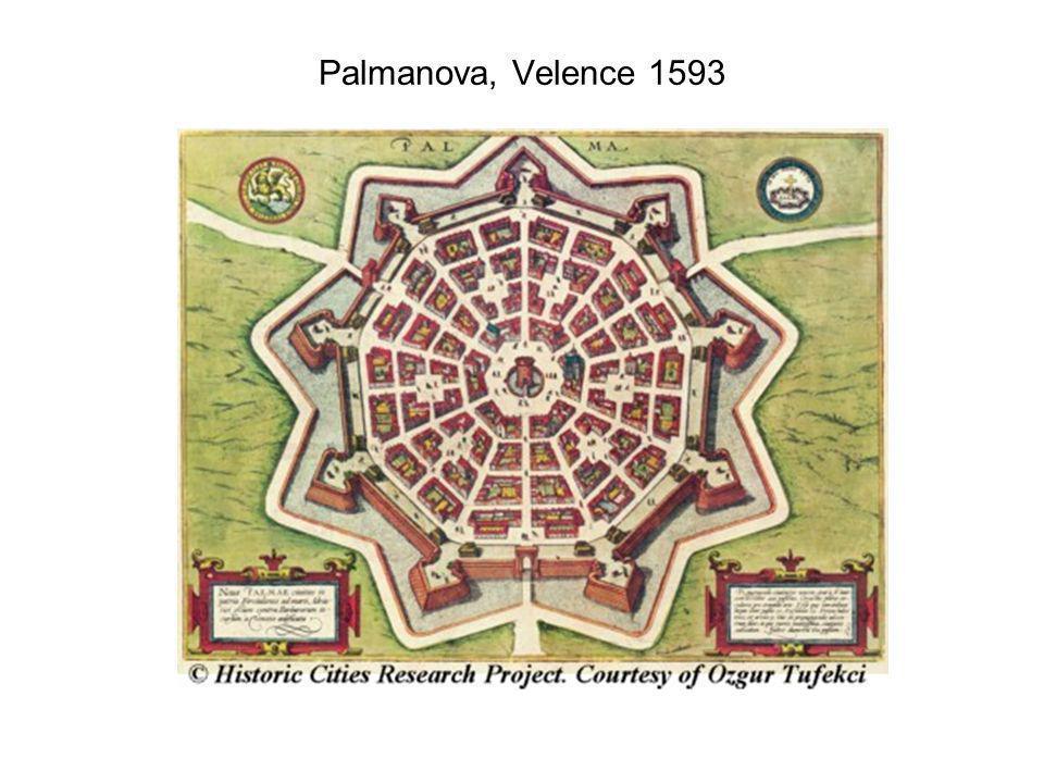 Palmanova, Velence 1593