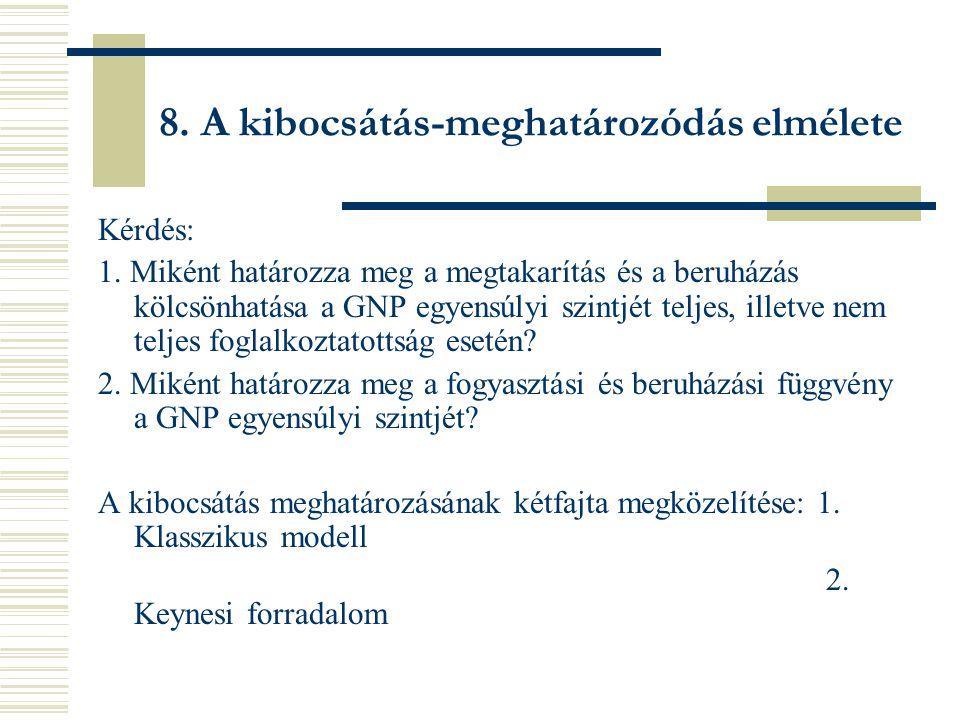 8.A kibocsátás-meghatározódás elmélete Kérdés: 1.