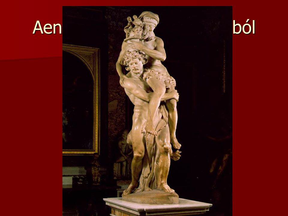 Aeneas menekülése Trójából