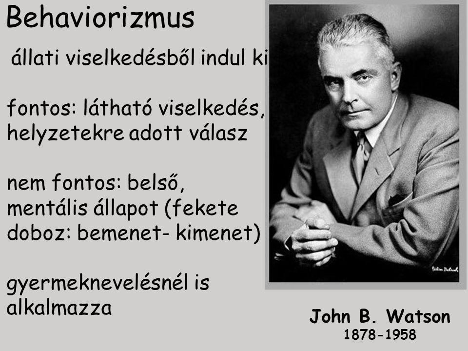 Behaviorizmus John B.
