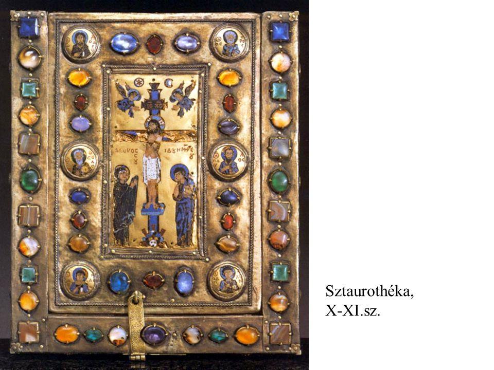 Sztaurothéka, X-XI.sz.