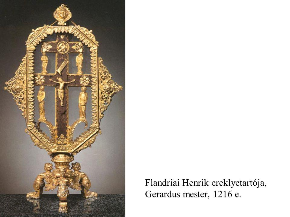 Flandriai Henrik ereklyetartója, Gerardus mester, 1216 e.