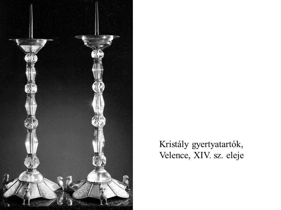 Kristály gyertyatartók, Velence, XIV. sz. eleje