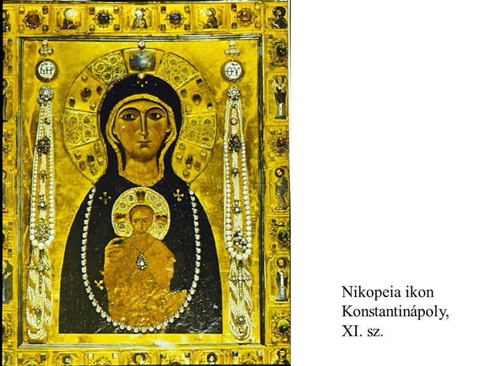 Nikopeia ikon Konstantinápoly, XI. sz.