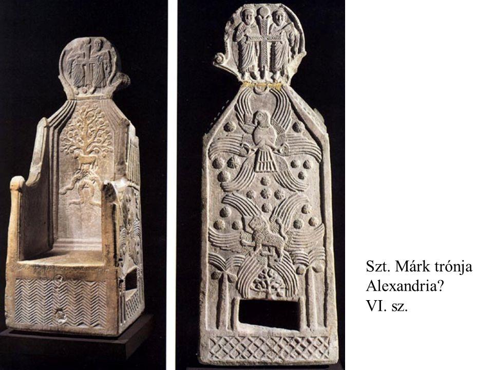 Szt. Márk trónja Alexandria? VI. sz.