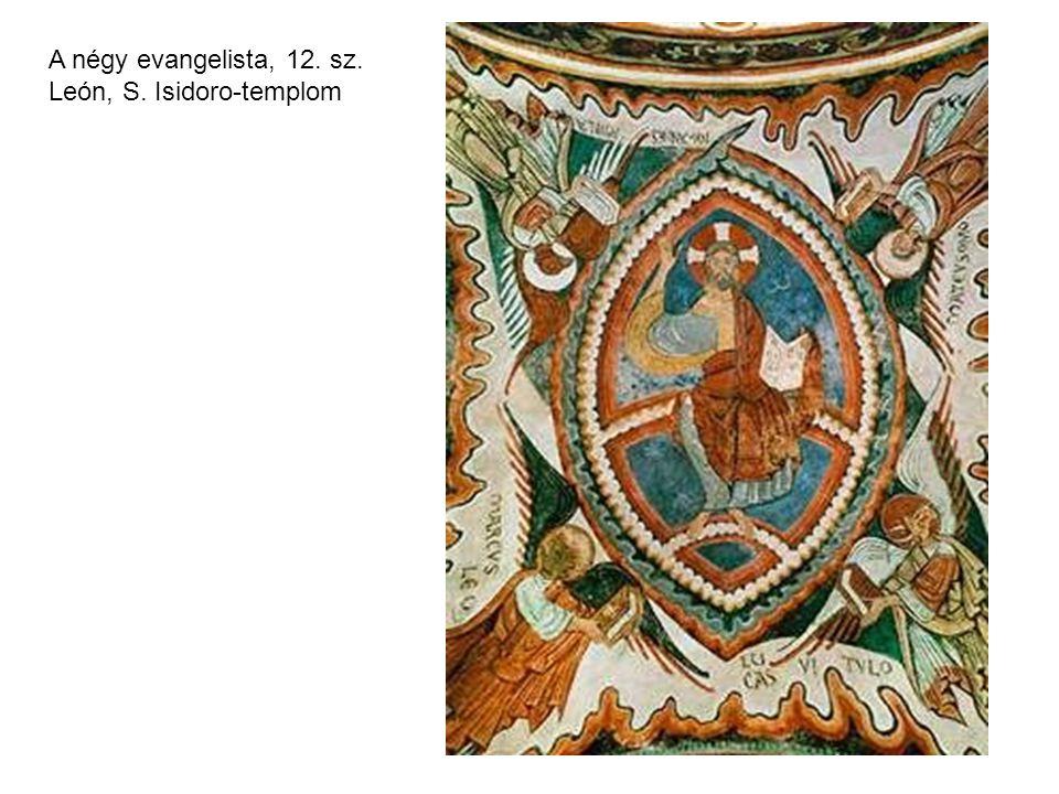 A négy evangelista, 12. sz. León, S. Isidoro-templom