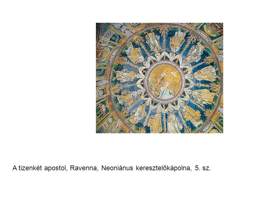 A tizenkét apostol, Ravenna, Neoniánus keresztelőkápolna, 5. sz.