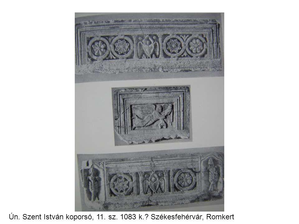 Ún. Szent István koporsó, 11. sz. 1083 k.? Székesfehérvár, Romkert