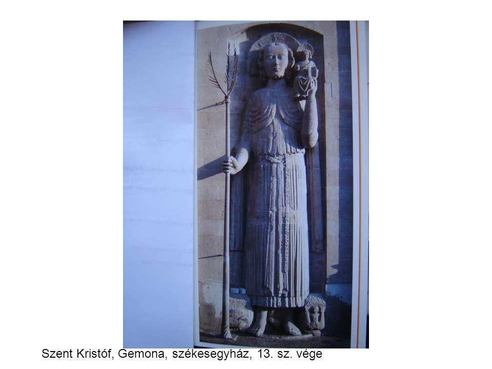 Szent Kristóf, Gemona, székesegyház, 13. sz. vége