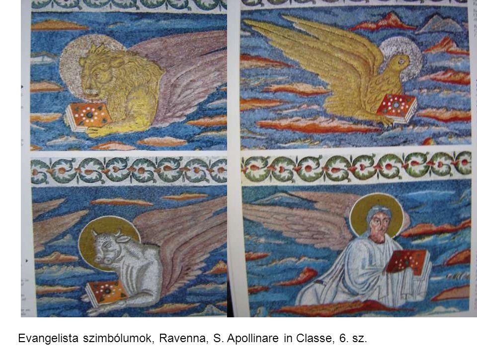 Evangelista szimbólumok, Ravenna, S. Apollinare in Classe, 6. sz.
