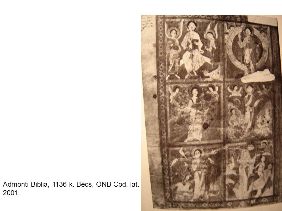 Admonti Biblia, 1136 k. Bécs, ÖNB Cod. lat. 2001.