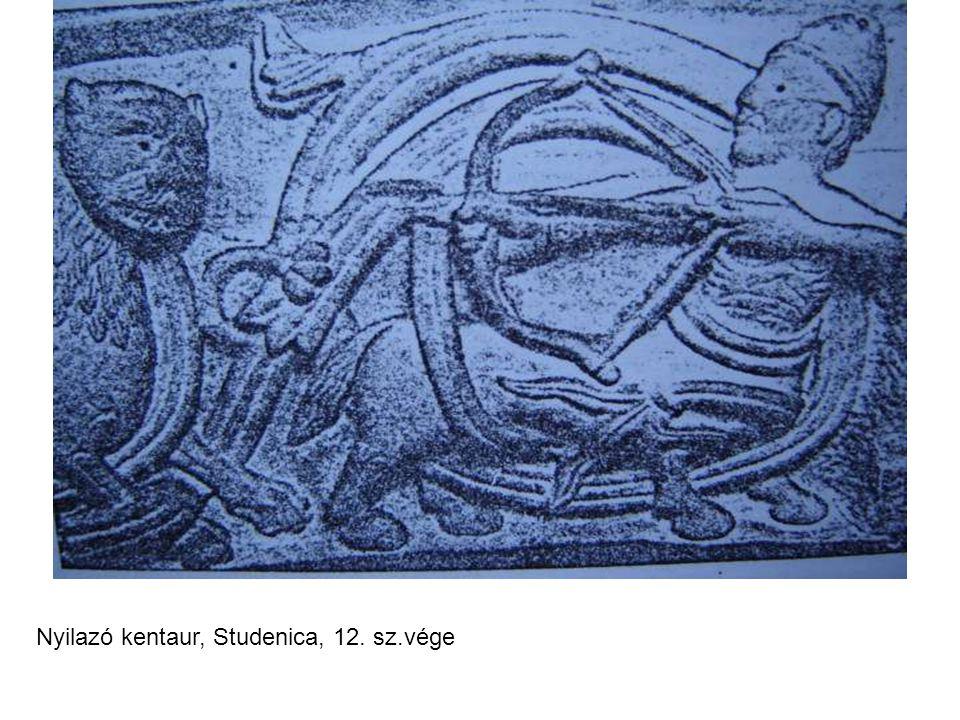 Nyilazó kentaur, Studenica, 12. sz.vége