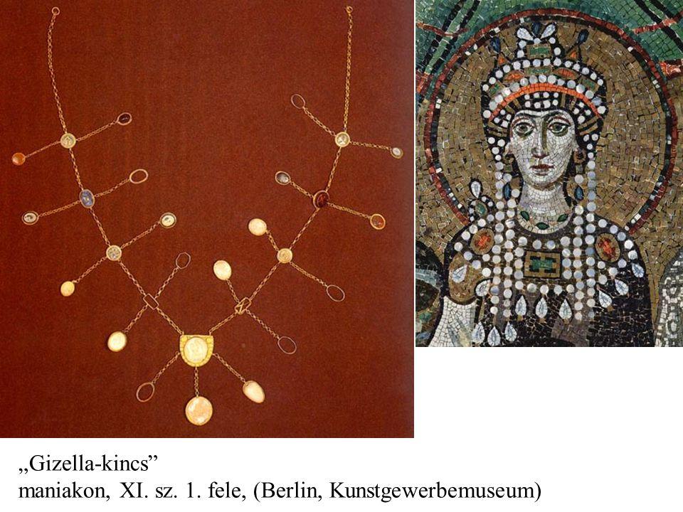 """""""Gizella-kincs maniakon, XI. sz. 1. fele, (Berlin, Kunstgewerbemuseum)"""