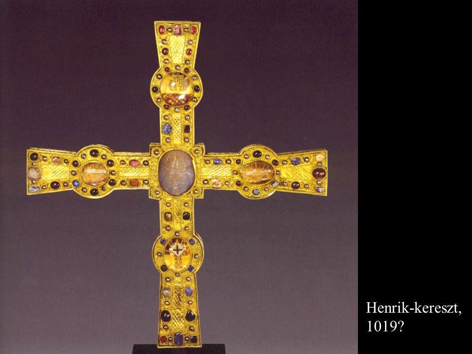 A Henrik-kereszt tartozékai: - bot, XIII. sz. - láb, XII. sz. vége
