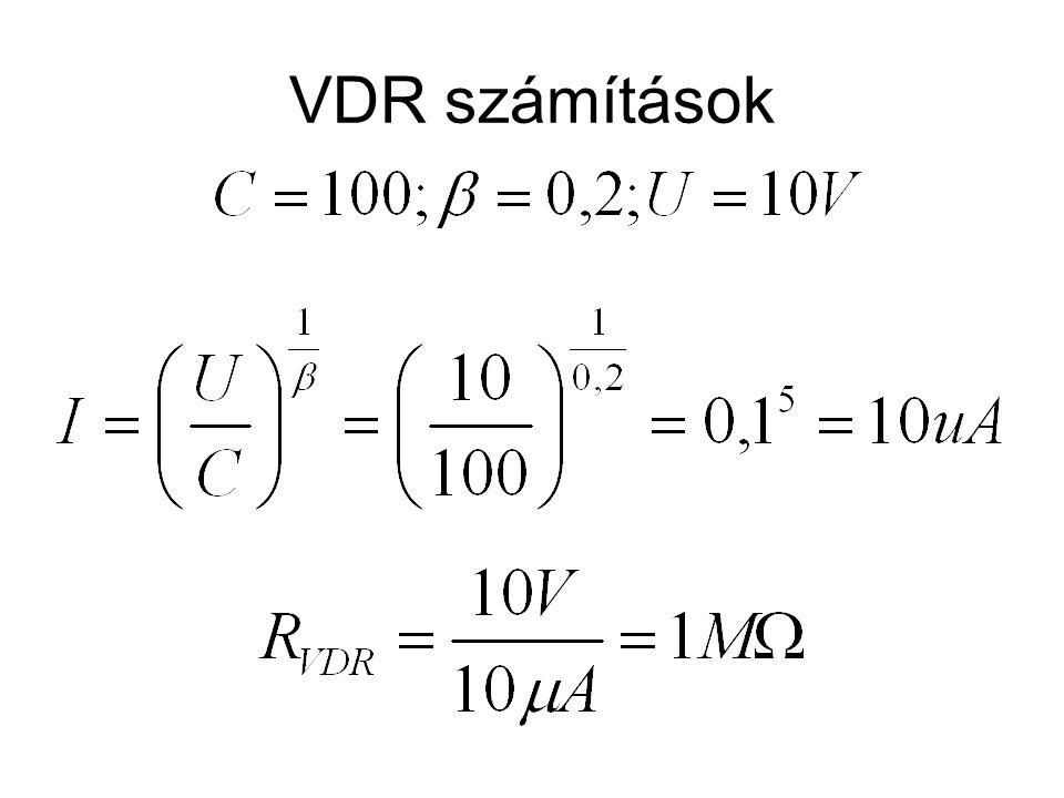 VDR számítások