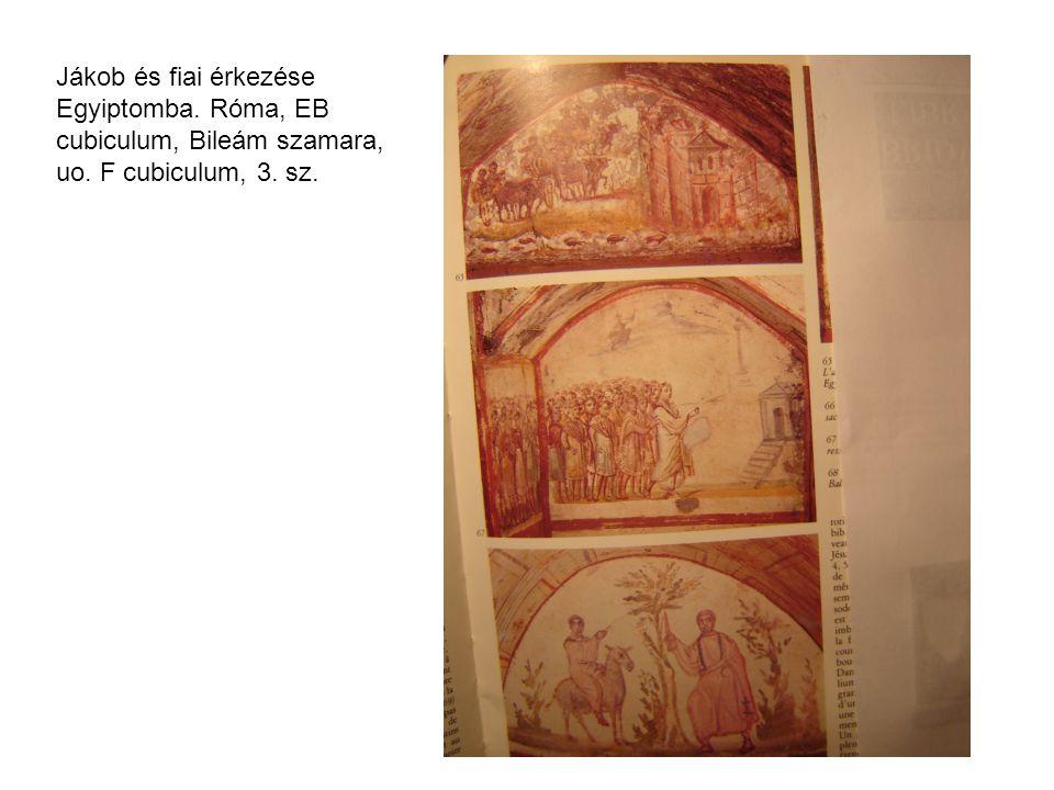 Három héber ifjú a tüzes kemencében, Róma, Priscilla katakomba, 3.