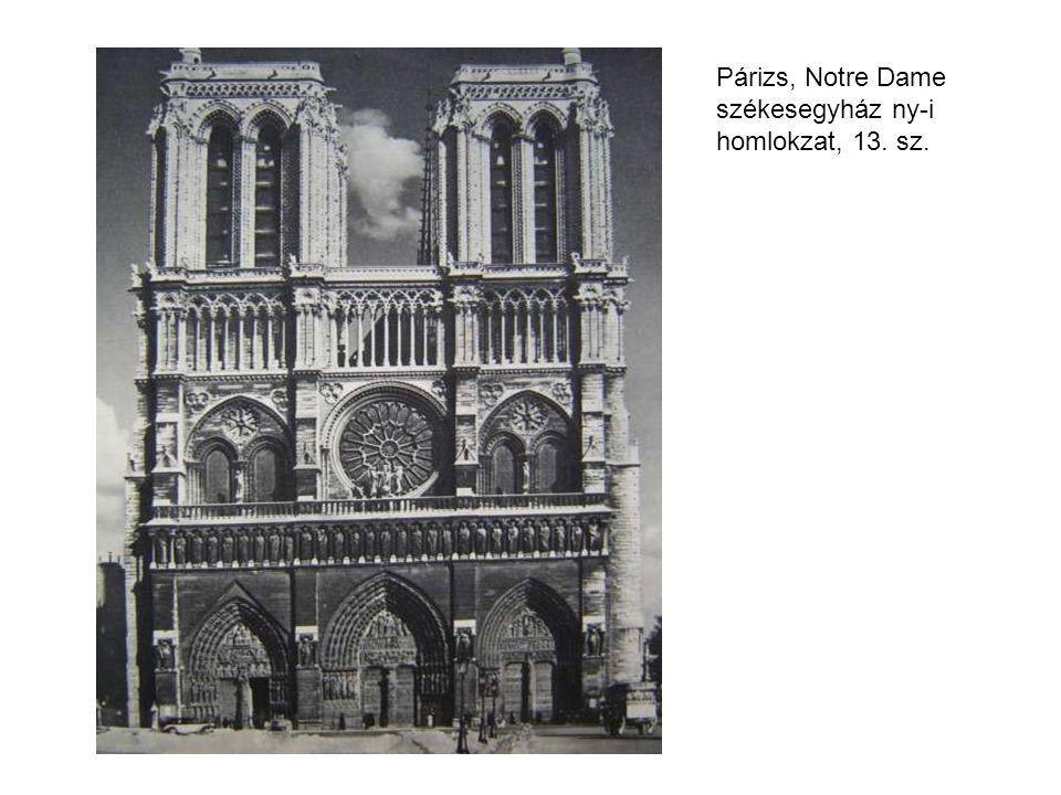 Párizs, Notre Dame székesegyház ny-i homlokzat, 13. sz.