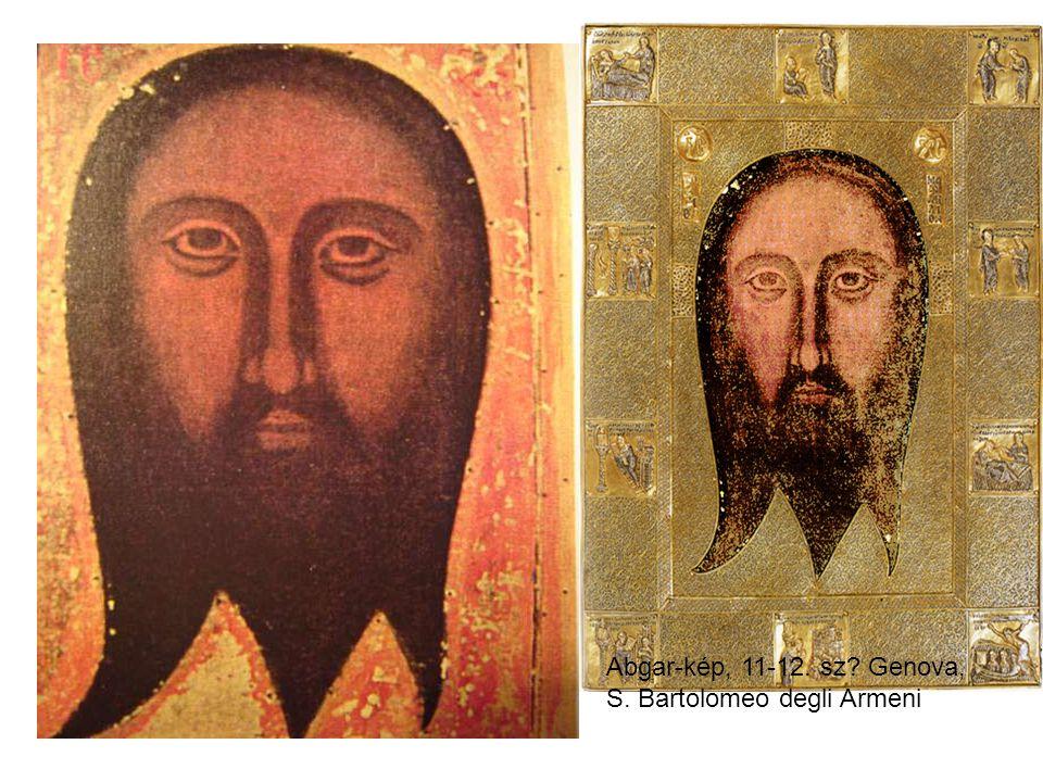 Abgar-kép, 11-12. sz? Genova, S. Bartolomeo degli Armeni