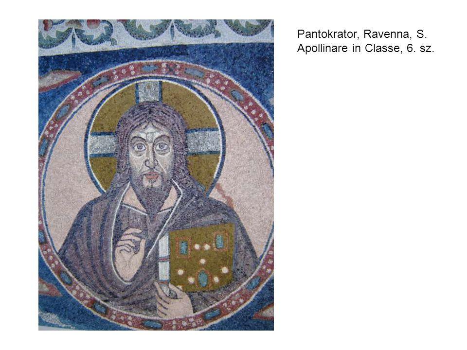 Pantokrator, Ravenna, S. Apollinare in Classe, 6. sz.