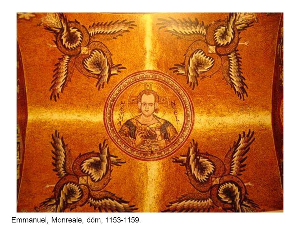 Emmanuel, Monreale, dóm, 1153-1159.