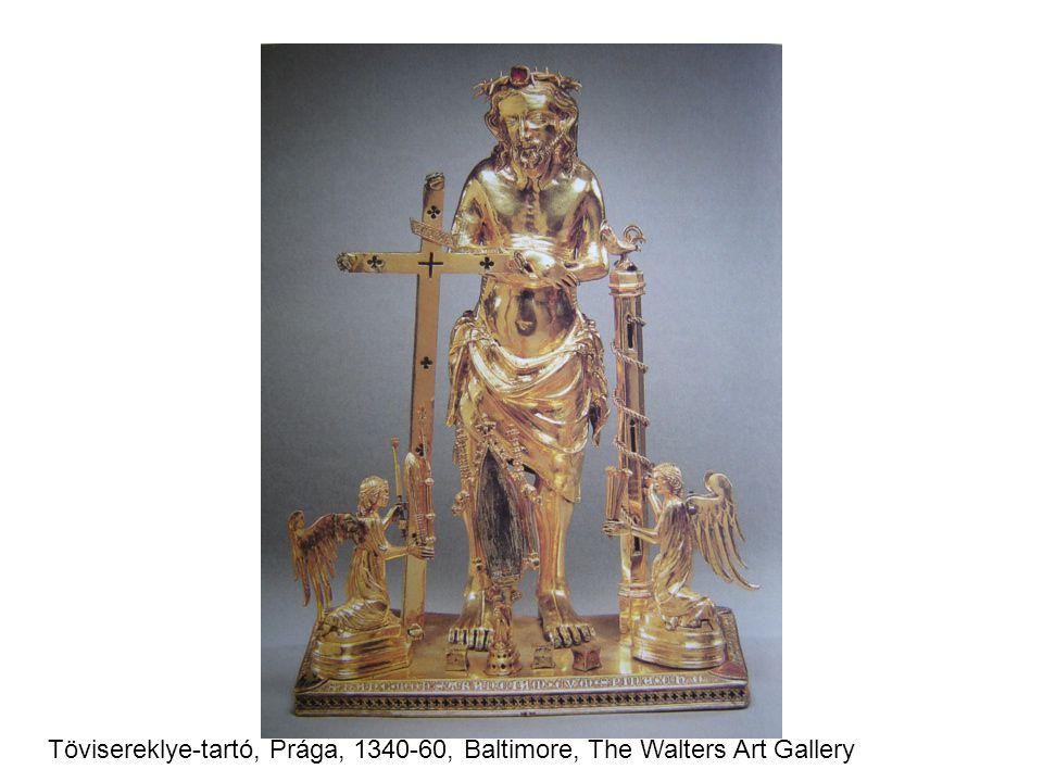Tövisereklye-tartó, Prága, 1340-60, Baltimore, The Walters Art Gallery